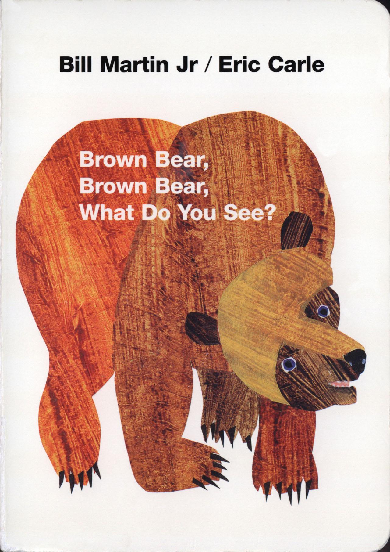 英文童谣 | 棕熊棕熊,你看到什么