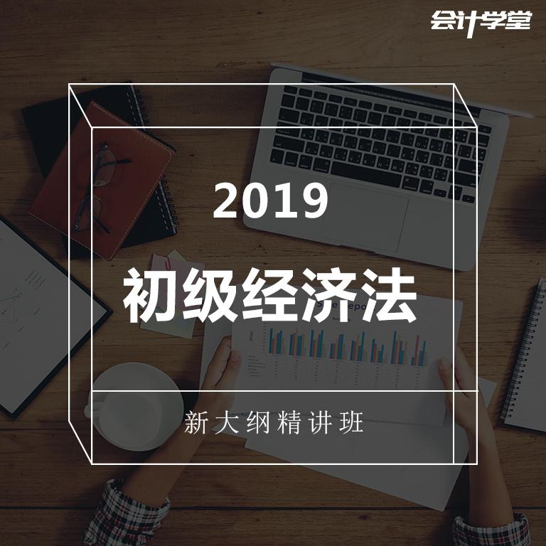 备战2019初级会计经济法新大纲教程