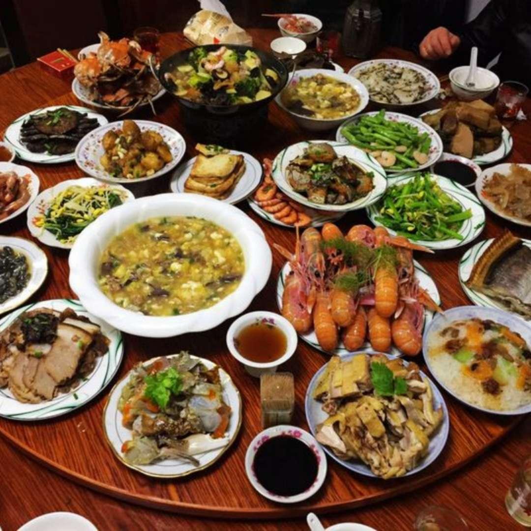 中国的年夜饭
