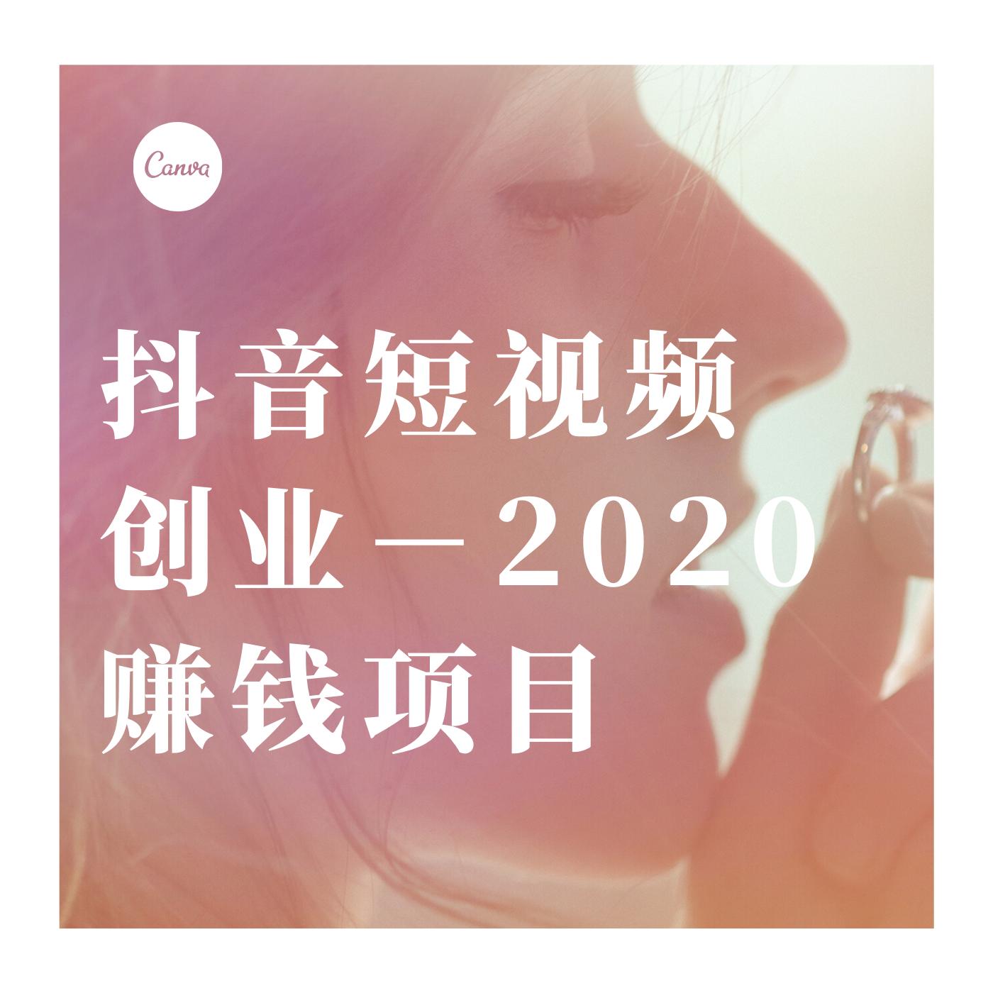 抖音短视频创业-2020赚钱项目