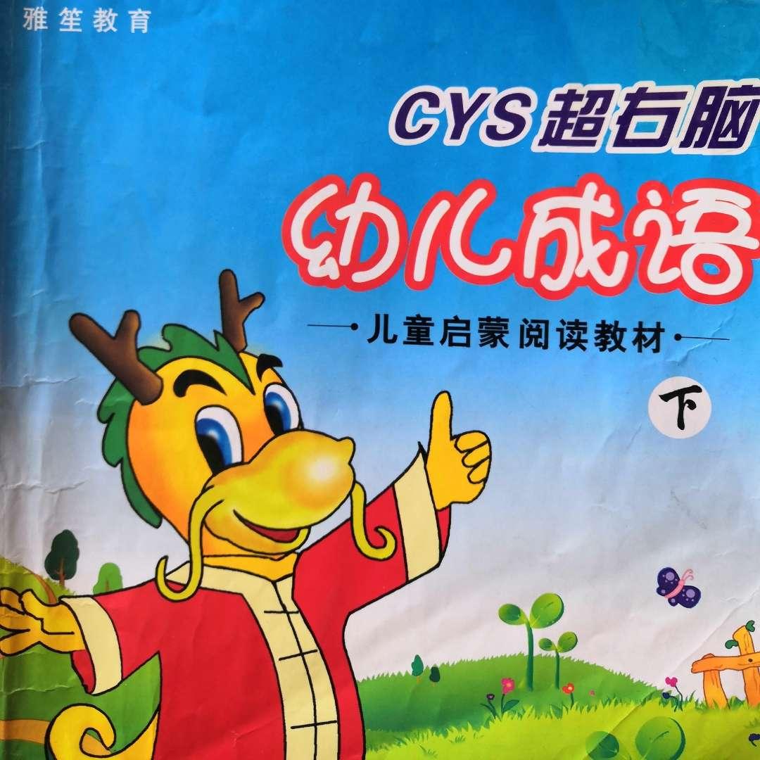 CYS超右脑幼儿成语